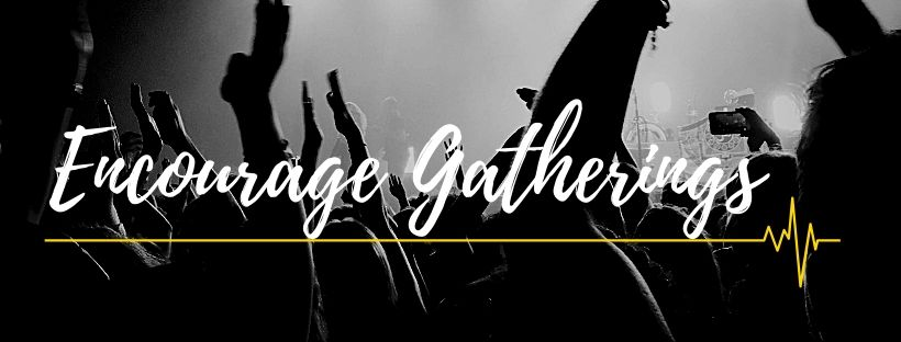 encourage gatherings party