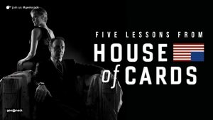 Five Lessons From House Of Cards cover