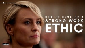 How to develop a strong work ethic cover