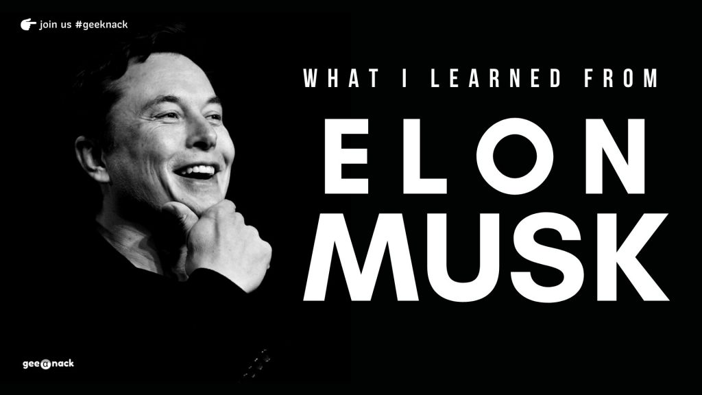 What I Learned From Elon Musk cover