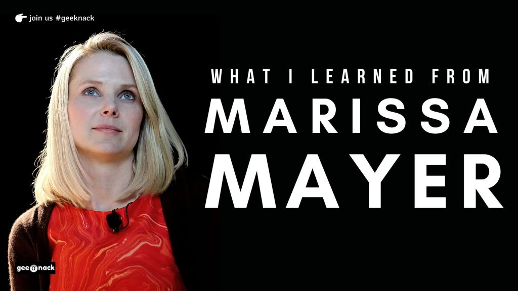 What I Learned From Marissa Mayer cover