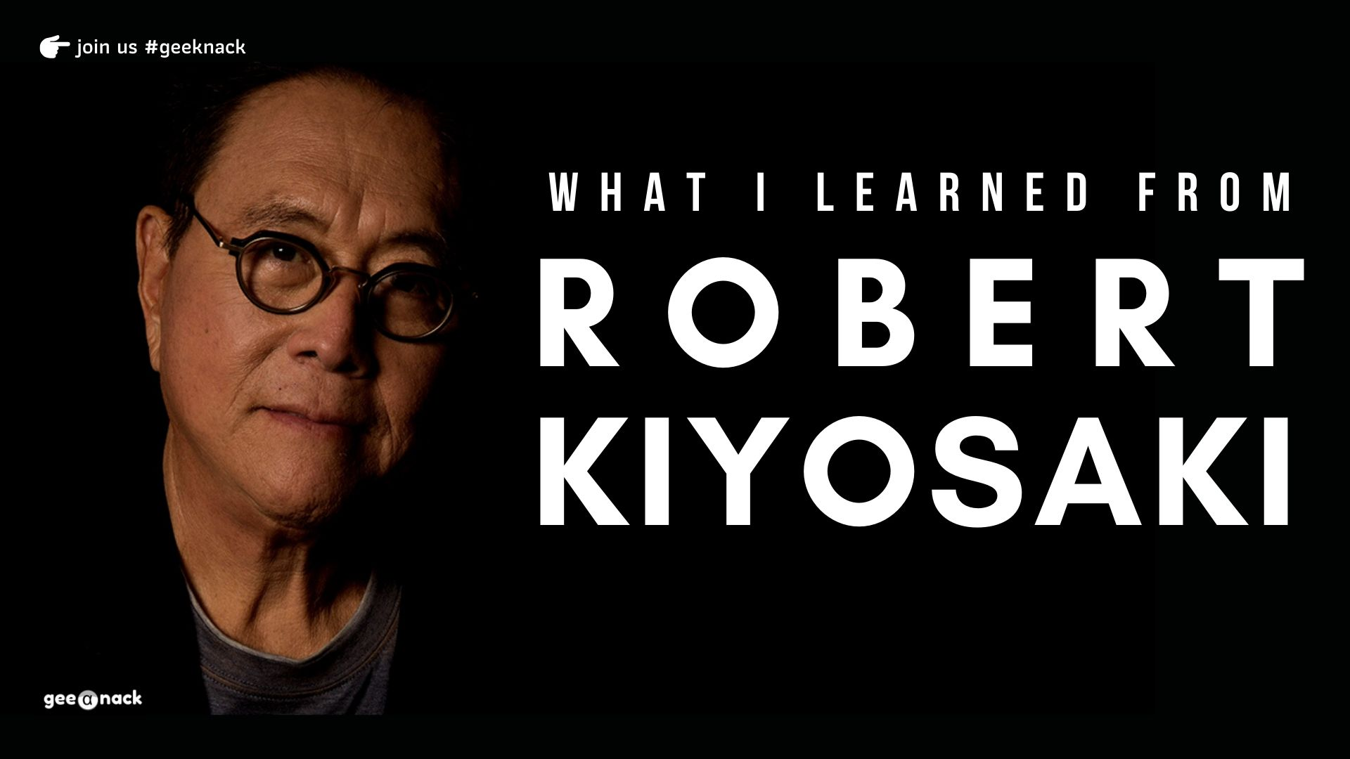 What I Learned From Robert Kiyosaki cover
