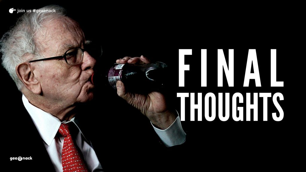 What I Learned From Warren Buffett Final Thoughts