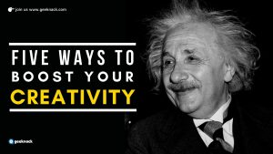 Five Ways To Boost Your Creativity cover