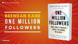 One Million Followers Brendan Kane cover