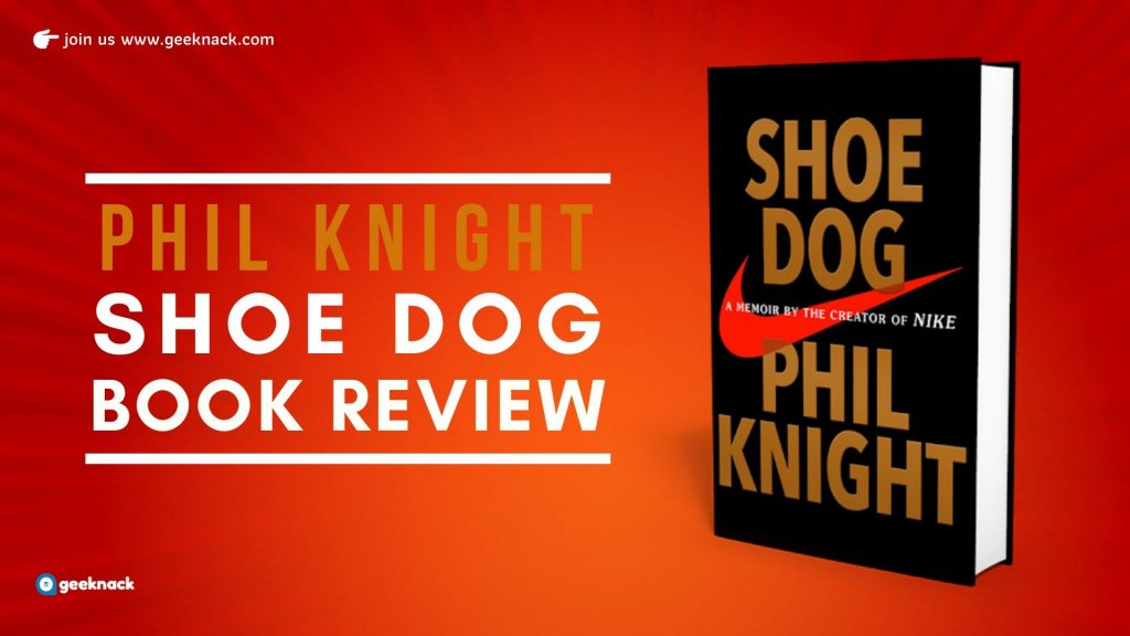 Phil Knight Shoe Dog cover