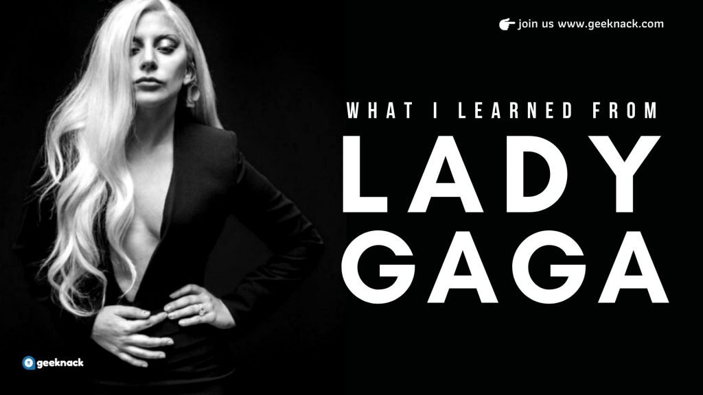 What I Learned From Lady Gaga cover