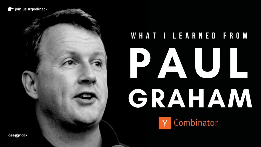 What I Learned From Paul Graham cover