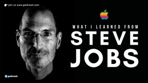 What I Learned From Steve Jobs cover
