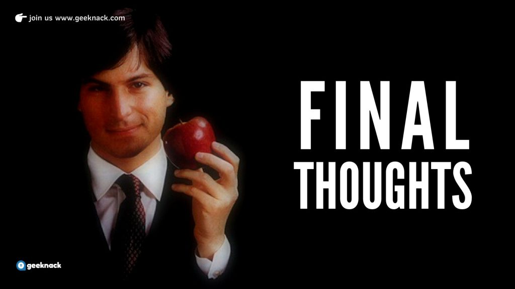 What I Learned From Steve Jobs Final Thoughts