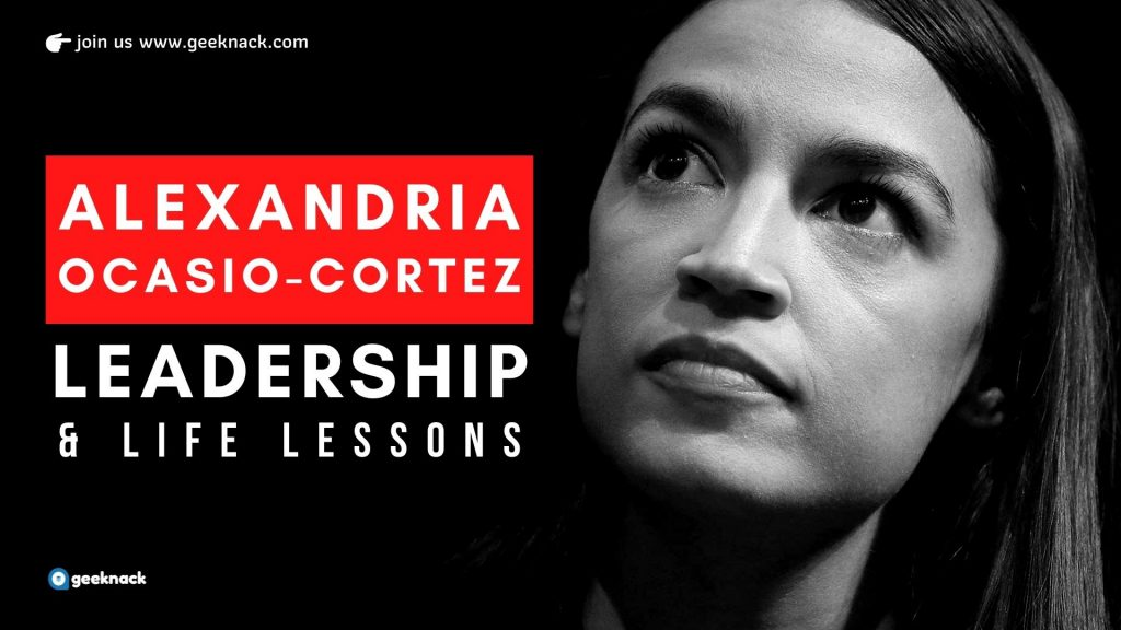 Alexandria Ocasio-Cortez Leadership And Life Lessons cover
