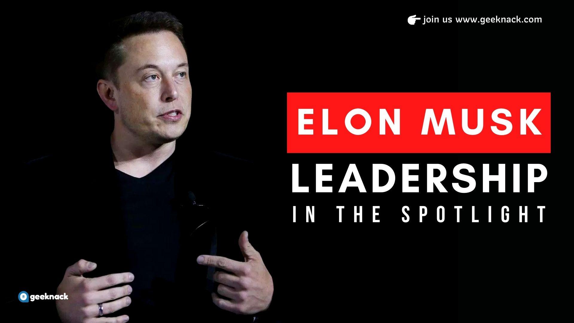 Elon Musk Leadership In The Spotlight cover
