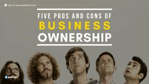 Five Pros and Cons Of Business Ownership cover