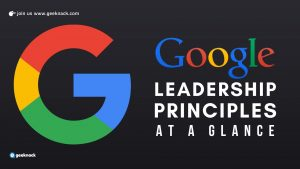 Google Leadership Principles At a Glance cover