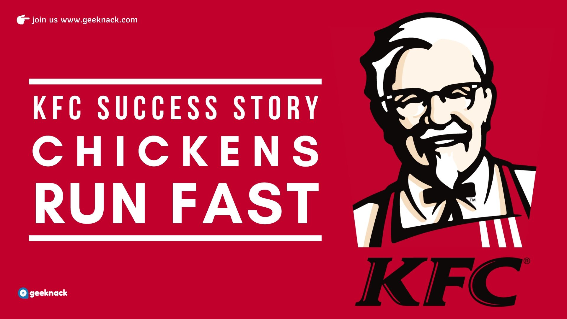 KFC Success Story Chickens Run Fast cover