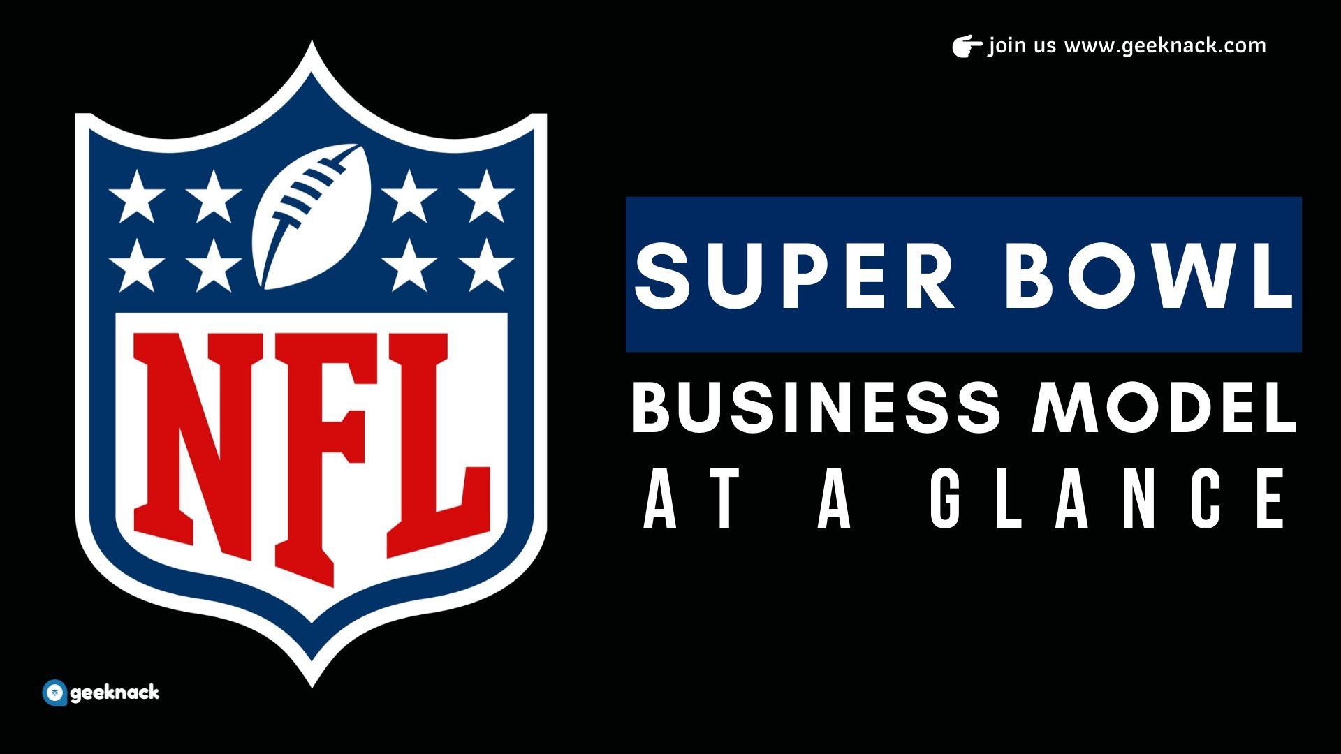 NFL Super Bowl Business Model cover