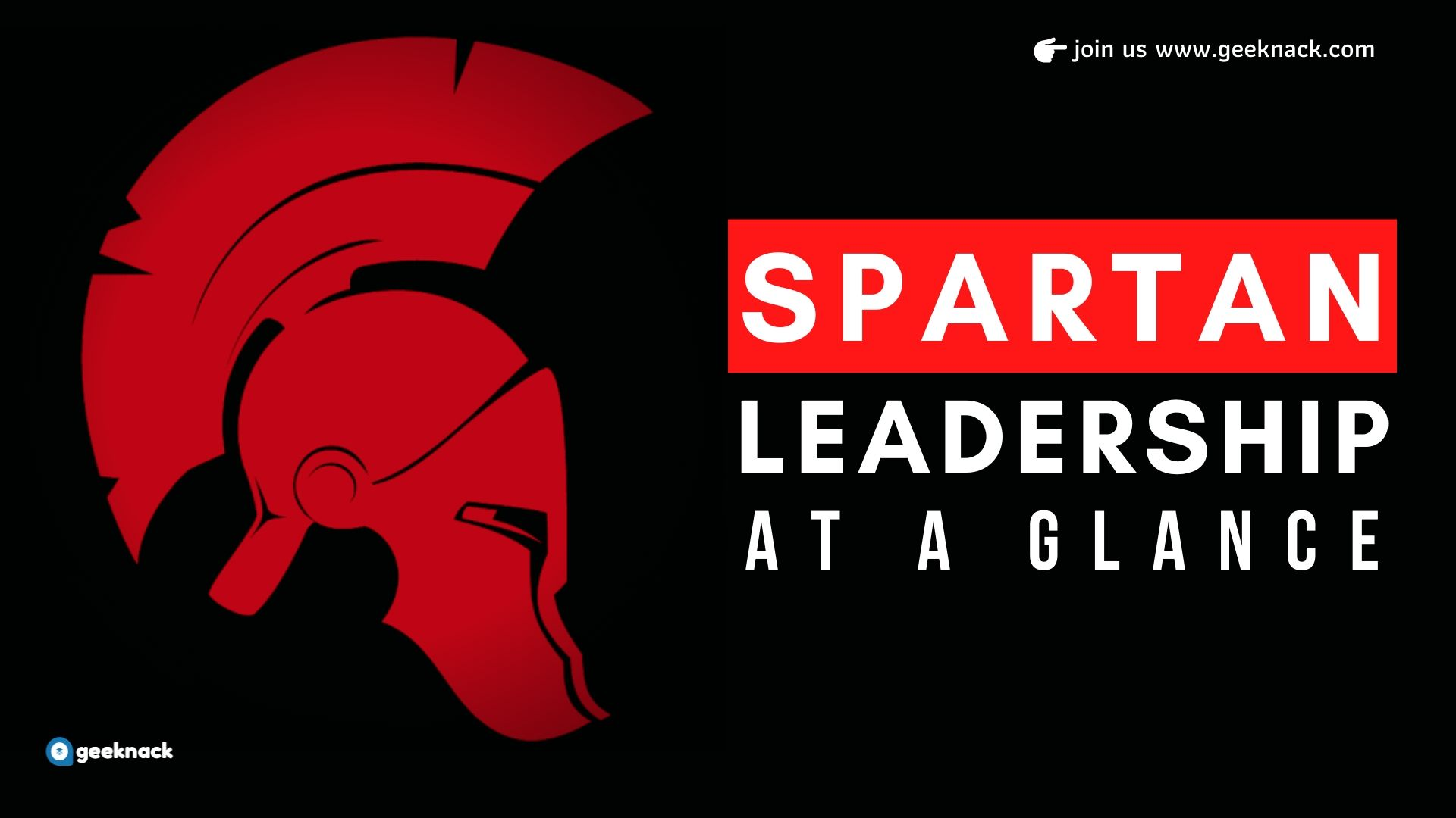 Spartan Leadership At a Glance cover