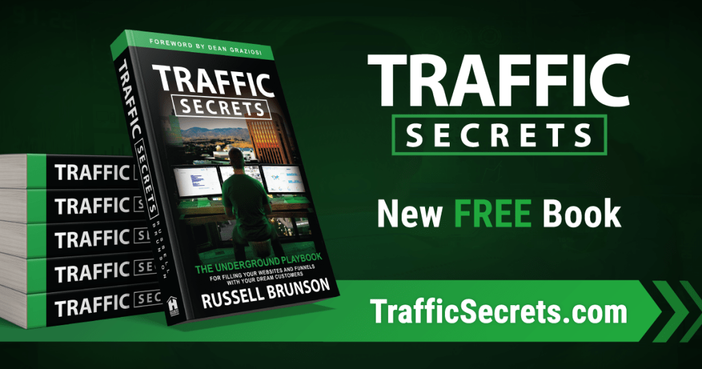 traffic secrets get your book now