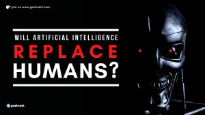 Will Artificial Intelligence Replace Humans cover