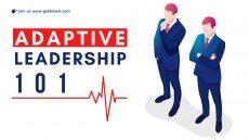 Adaptive Leadership principles 101 cover