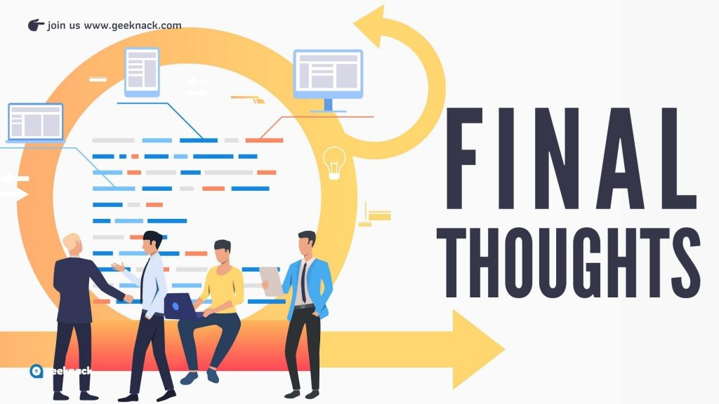 Busting The Myths of Agile Final Thoughts