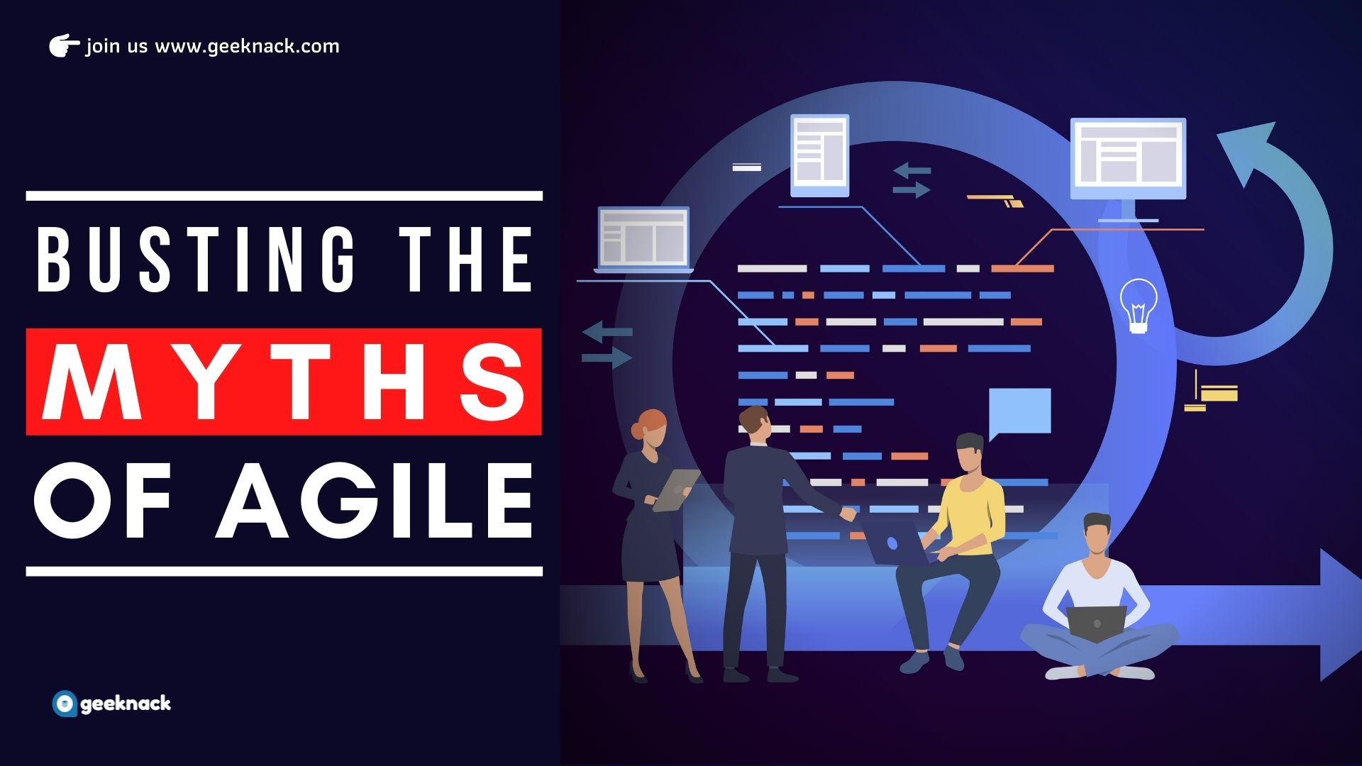 Busting The Myths of Agile cover