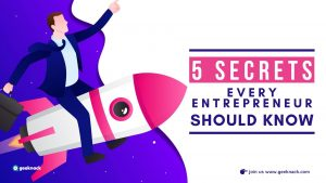 Five Secrets Every Entrepreneur Should Know cover