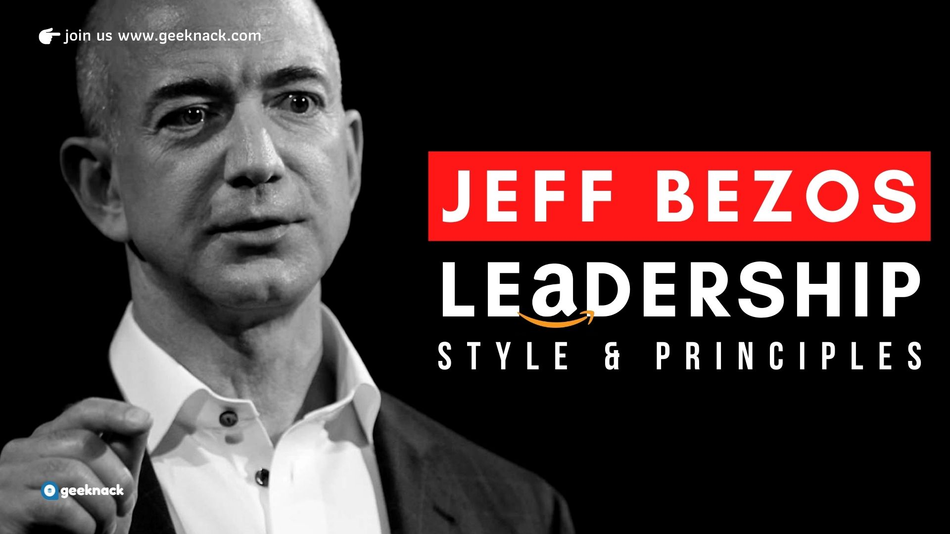 Jeff Bezos - Leadership Style Principles cover