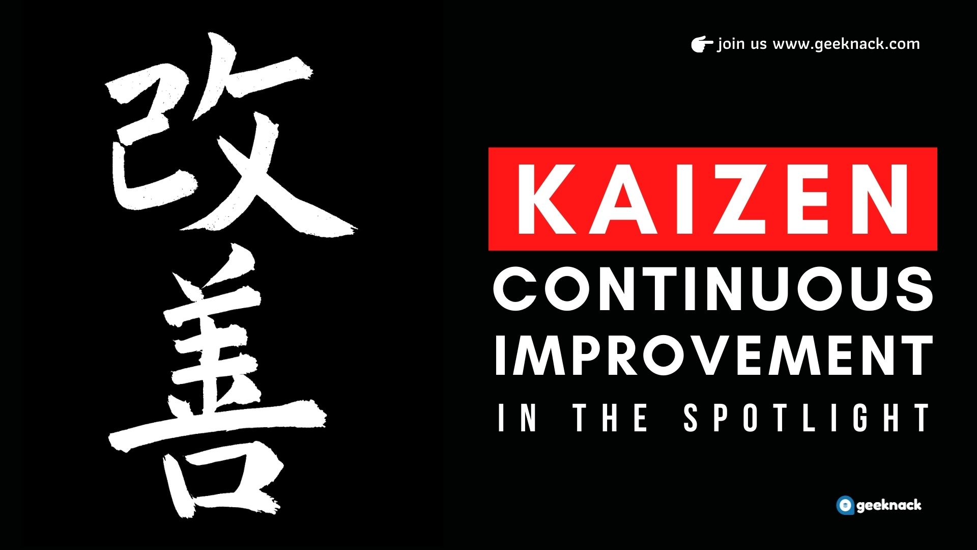 Kaizen Continuous Improvement In The Spotlight cover