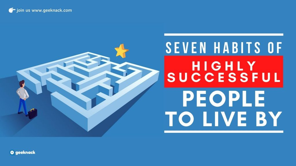 Seven Habits Of Highly Successful People To Live By cover