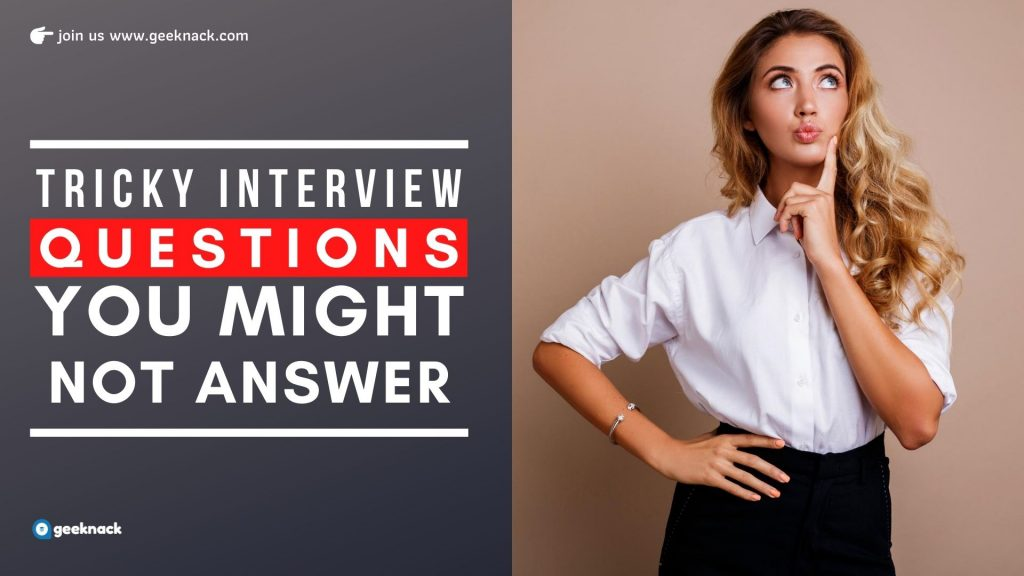 Tricky Interview Questions You Might Not Answer cover