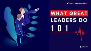 What Great Leaders Do 101 cover