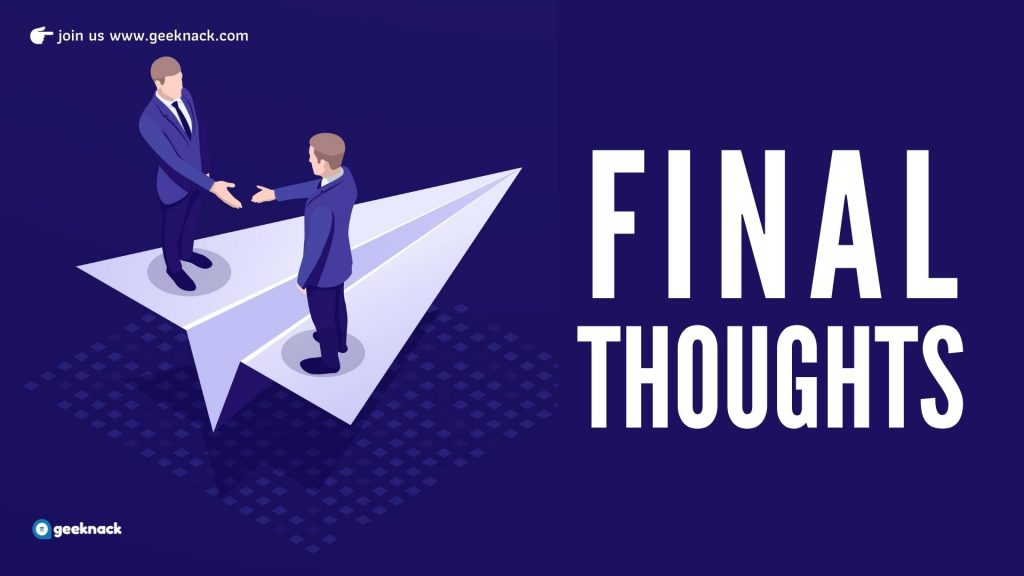 What Great Leaders Do 101 Final Thoughts