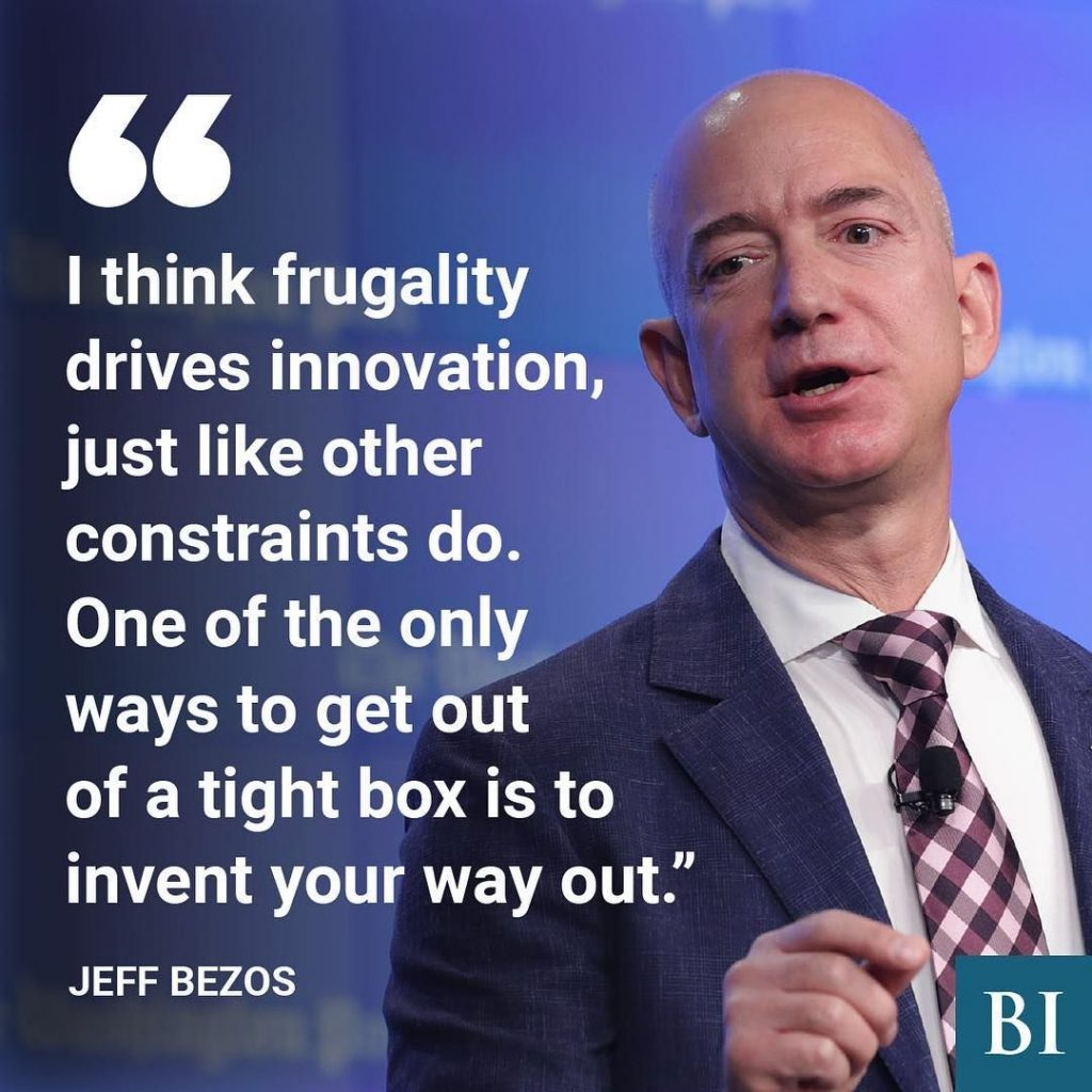 jeff bezos leadership less is more