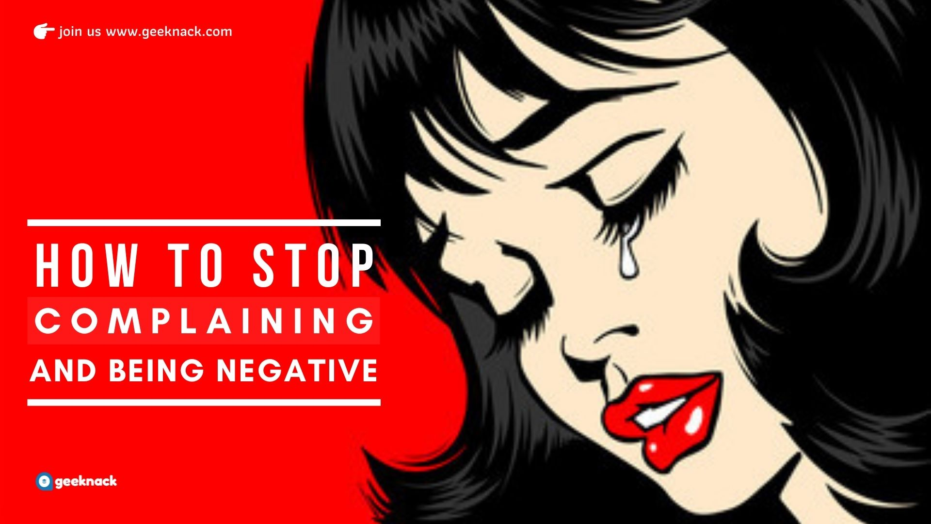 How To Stop Complaining And Being Negative cover
