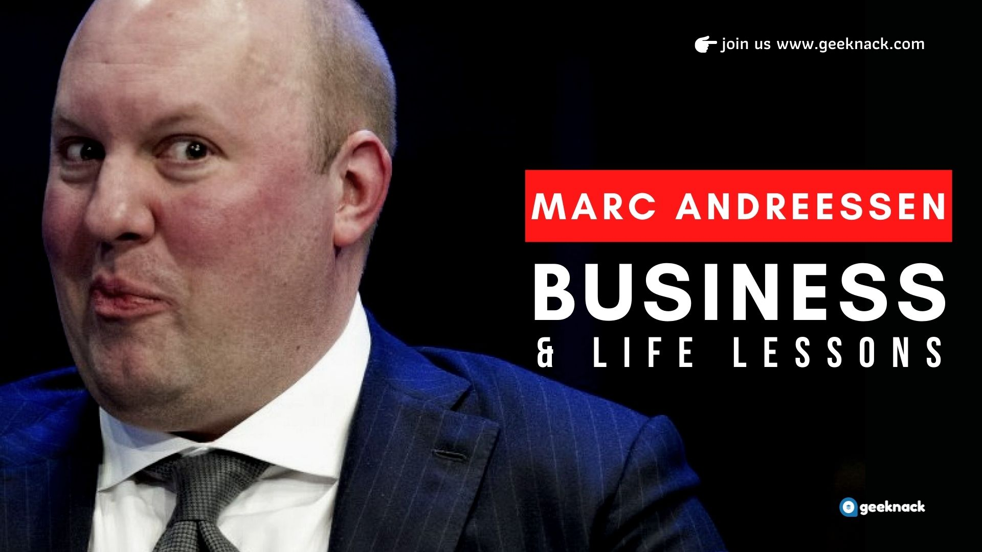 Marc Andreessen Business Life Lessons cover