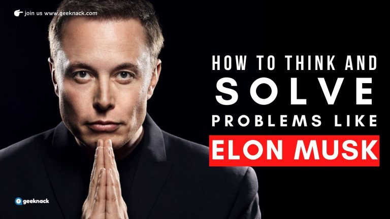 How To Think And Solve Problems Like Elon Musk cover