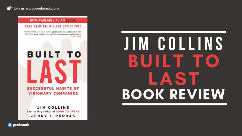 Jim Collins Built To Last Book Review cover