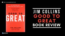 Jim Collins Good To Great Book Review cover