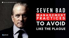 Seven Bad Management Practices To Avoid Like The Plague cover