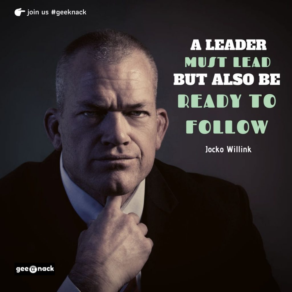 Jocko Willink leadership quotes