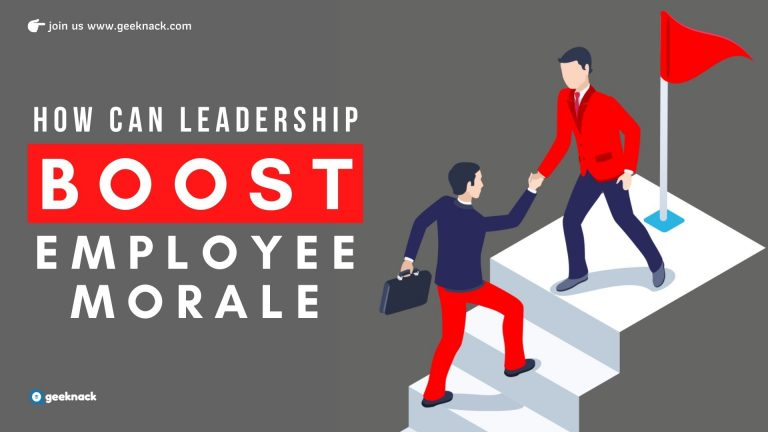 How Can Leadership Boost Employee Morale cover