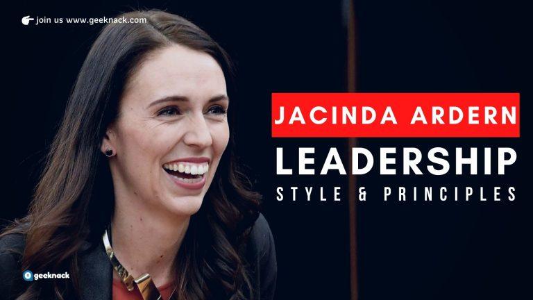 Jacinda Ardern - Leadership Style Principles cover