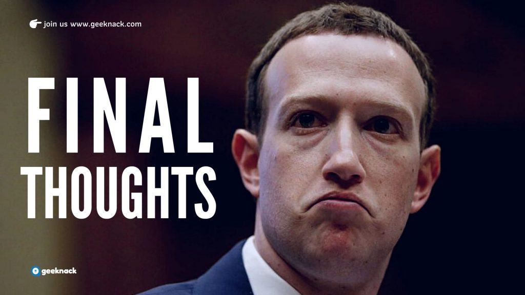 Mak Zuckerberg - Leadership Style and Principles Final Thoughts