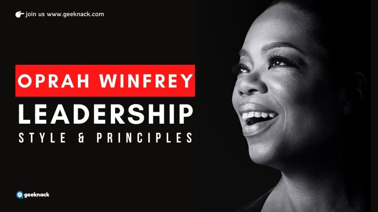Oprah Winfrey Leadership Style and Principles cover