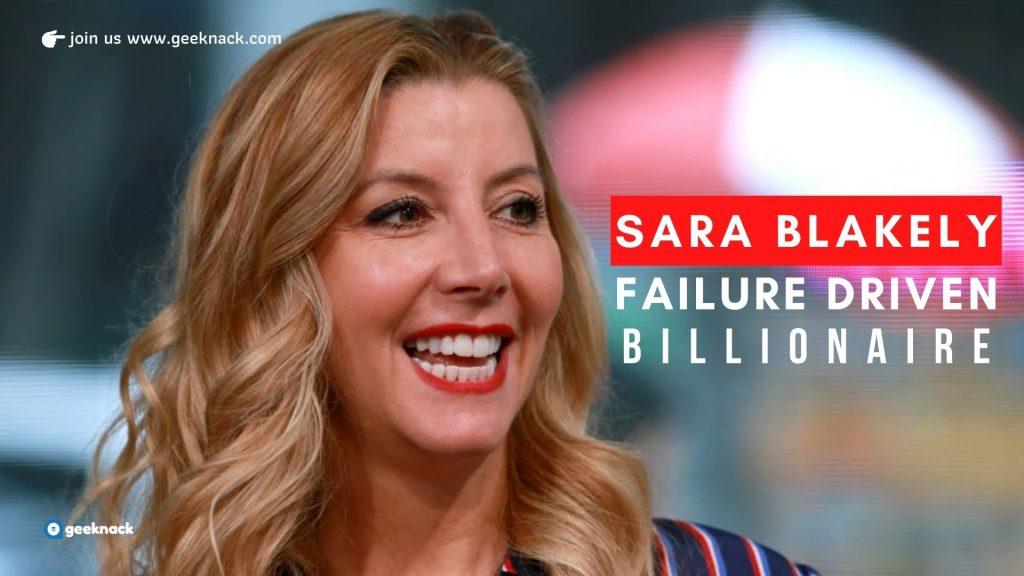 Sara Blakely Failure Driven Billionaire cover