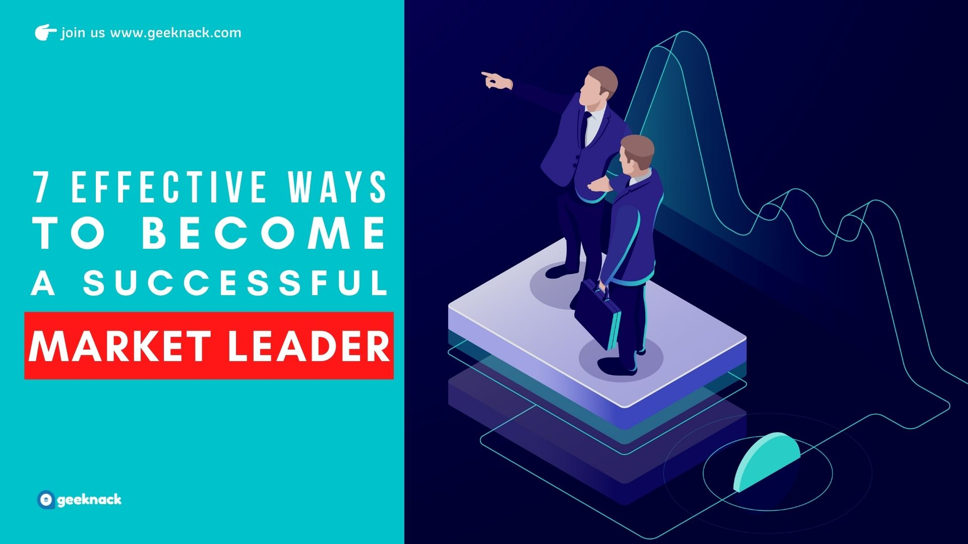 Seven Effective Ways To Be a Successful Market Leader cover