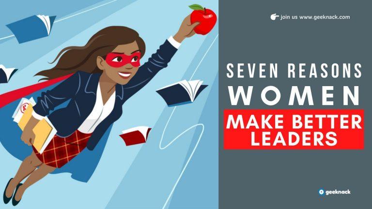 Seven Reasons Women Make Better Leaders cover