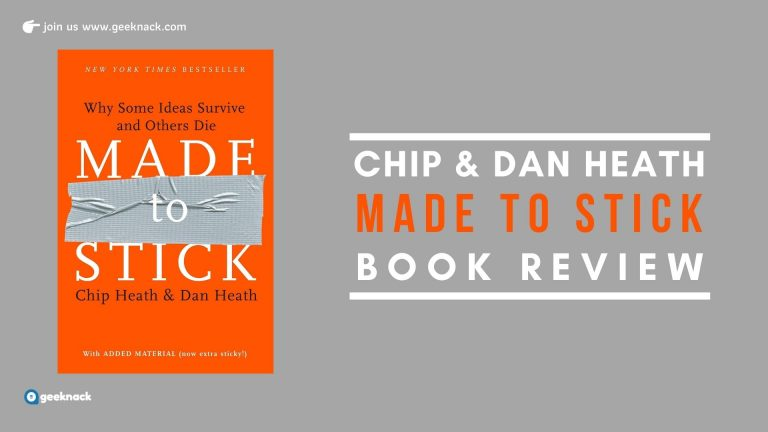 Chip & Dan Heath - Made To Stick Book Review
