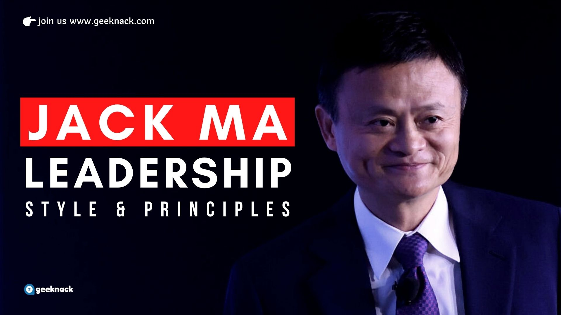 Jack Ma - Leadership Style & Principles cover